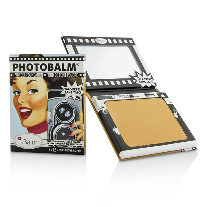 TheBalm PhotoBalm Powder Foundation - #Medium