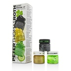 Peter Thomas Roth Just Mask It Kit: Irish Moor Mud Purifying Black Mask 15ml + 24K Gold Mask 15ml + Cucumber Gel Mask 15ml