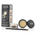 Toppik Brow Building Fibers Set - # Light Brown