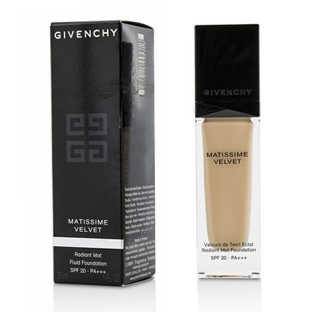 Givenchy Matissime Velvet Radiant Mat Fluid Foundation SPF 20 - #02 Mat Shell