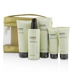 Ahava Deadsea Water Mineral Body Kit: Shower Gel + Body Exfoliator + Body Lotion + Hand Cream + Foot Cream + Gold Bag