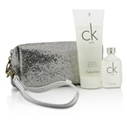 Calvin Klein CK One Coffret: EDT 15ml/0.5oz + Body Wash 100ml/3.4oz + Bag