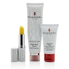 Elizabeth Arden Eight Hour Cream Nourishing Skin Essentials Set: Skin Protectant Fragrance Free+Hand Treatment+Lip (Box Slightly Dameaged)