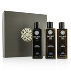 Gentlemen's Tonic Shower Gift Set: Gentle Body Wash 250ml + Daily Shampoo 250ml + Protein Conditioner 250ml