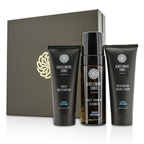 Gentlemen's Tonic Face Gift Set: Exfoliating Facial Scrub 100ml + Daily Foaming Cleanser 150ml + Daily Moisturiser 100ml