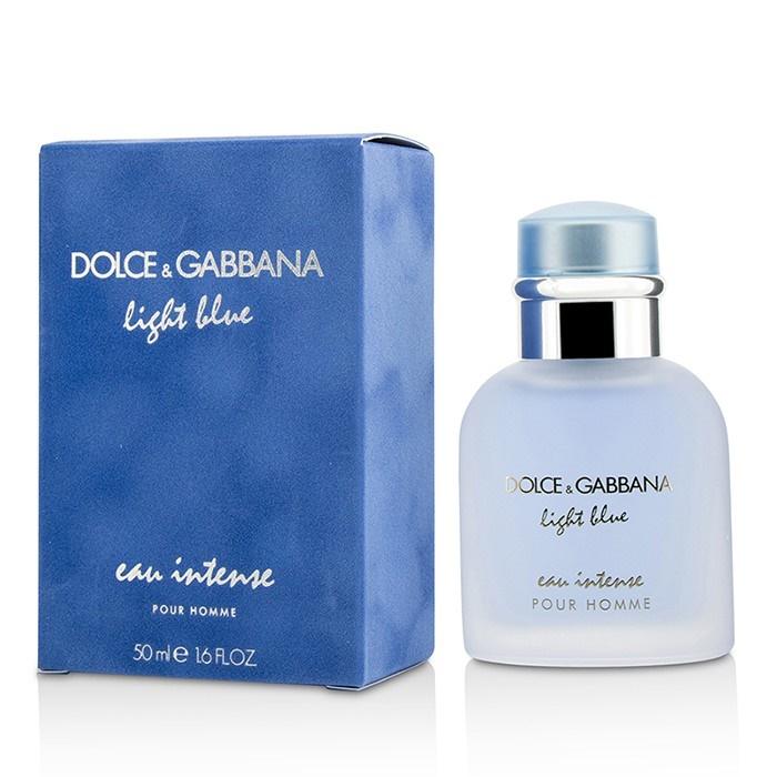 dolce gabbana light blue eau intense pour homme edp. Black Bedroom Furniture Sets. Home Design Ideas