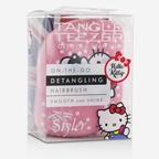 Tangle Teezer Compact Styler On-The-Go Detangling Hair Brush - # Hello Kitty Pink