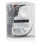 Tangle Teezer Compact Styler On-The-Go Detangling Hair Brush - # Silver Chrome