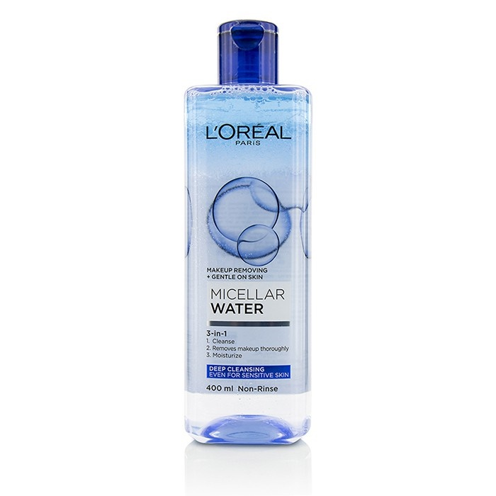 L'Oreal 3-In-1 Micellar Water (Deeping Cleansing) - Even For Sensitive Skin