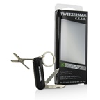 Tweezerman G.E.A.R. Pocket Multi-Tool (Folding Nail Clipper, Nail File, Nose Hair Scissors, Pockey Knife)