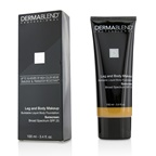 Dermablend Leg and Body Makeup Buildable Liquid Body Foundation Sunscreen Broad Spectrum SPF 25 - #Tan Honey 45W
