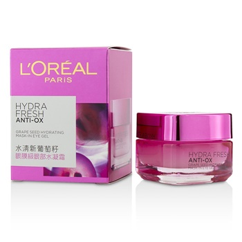 L'Oreal Hydrafresh Anti-Ox Grape Seed Hydrating Mask-In-Eye Gel