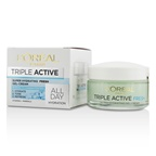 L'Oreal Triple Active Super Hydrating Fresh Gel-Cream - For Normal To Combination Skin