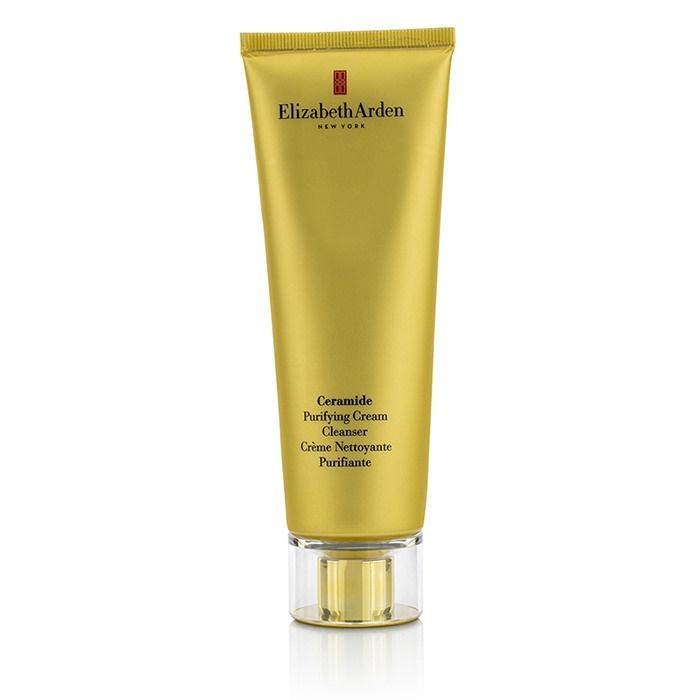 Elizabeth Arden Ceramide Purifying Cream Cleanser 4.2 Fl Oz. (New, No Box) Pevonia Ligne Yeux Evolutive Eye Cream , 15 ml / 0.5 oz ( travel size )