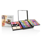 Cameleon MakeUp Kit Deluxe G2363 (66x Eyeshadow, 5x Blusher, 2x Pressed Powder, 4x Lipgloss, 3x Applicator)