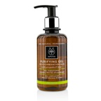 Apivita Purifying Gel With Propolis & Lime - For Oily/Combination Skin