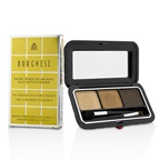 Borghese Satin Shadow Milano Duo With Eyeliner - # 01 Bellezza Brown