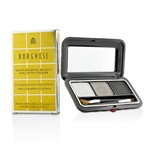 Borghese Satin Shadow Milano Duo With Eyeliner - # 03 Platinum Pietra