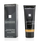 Dermablend Leg and Body Makeup Buildable Liquid Body Foundation Sunscreen Broad Spectrum SPF 25 - #Medium Bronze 45N