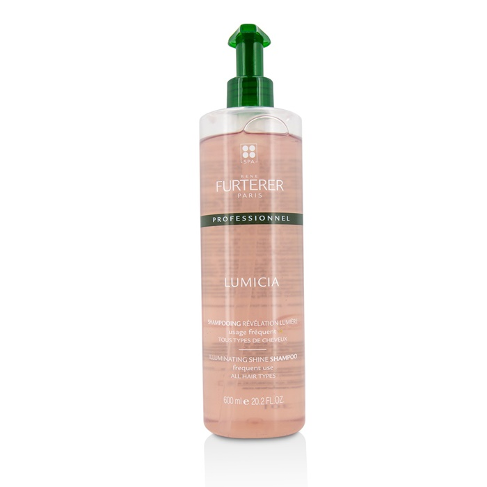 Rene Furterer Lumicia Illuminating Shine Shampoo - Frequent Use, All Hair Types (Salon Product)