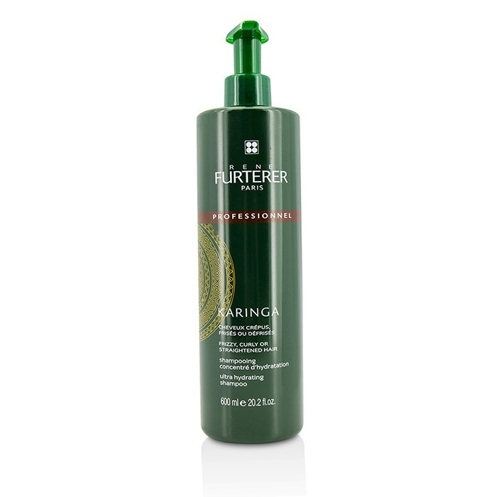 Rene Furterer Karinga Ultra Hydrating Shampoo - Frizzy, Curly or Straightened Hair (Salon Product)