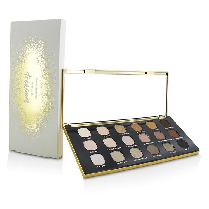 BareMinerals The Hidden Treasure Ready 18.0 Eyeshadow Palette