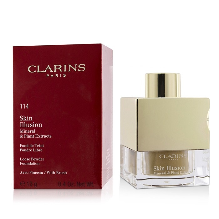 Clarins Skin Illusion Mineral Amp Plant Extracts Loose
