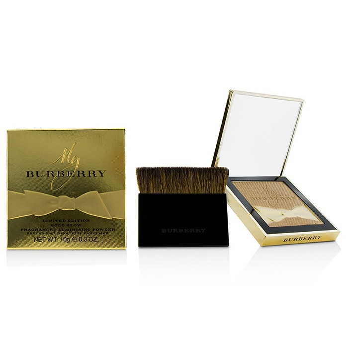 Burberry Gold Glow Fragranced Luminising Powder Limited Edition - # No. 02 Gold Shimmer
