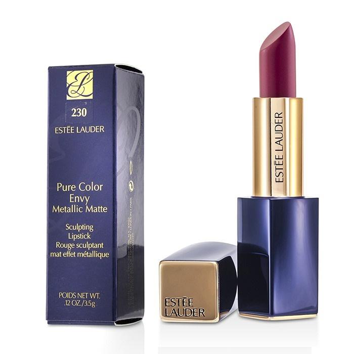 1862240796c56 Estee Lauder Pure Color Envy Metallic Matte Sculpting Lipstick -   230  Crush It. Loading zoom