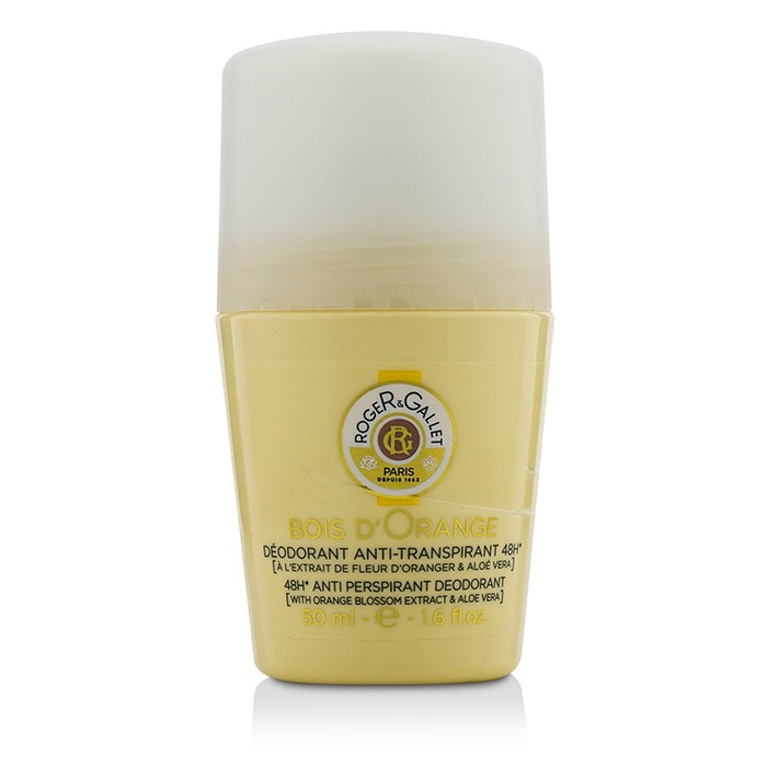 Roger & Gallet Bois d' Orange 48H Anti Perspirant Deodorant Roll On