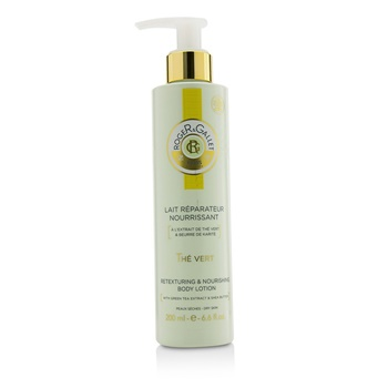 Roger & Gallet Green Tea (The Vert) Retexturing & Nourishing Body Lotion (with Pump)