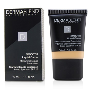 Dermablend Smooth Liquid Camo Foundation SPF 25 (Medium Coverage) - Linen (0C)