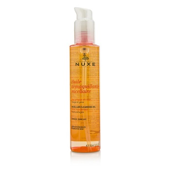 Nuxe Huile Demaquillante Micellaire Micellar Cleansing Oil With Rose Petal For Face & Eyes (Sensitive Skin)