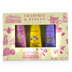 Crabtree & Evelyn Heritage Hand Therapy Set (1x Old World Jasmine, 1x Florentine Freesia, 1x Venitian Violet)