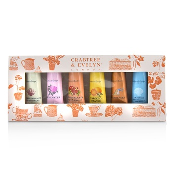 Crabtree & Evelyn Bestsellers Hand Therapy Six-Piece Set