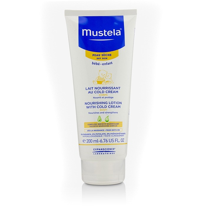 Mustela Nourishing Body Lotion With Cold Cream - For Dry Skin