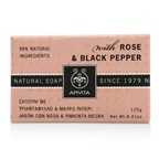Apivita Natural Soap With Rose & Black Pepper