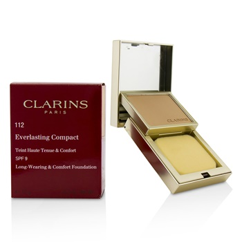 Clarins Everlasting Compact Foundation SPF 9 - # 112 Amber