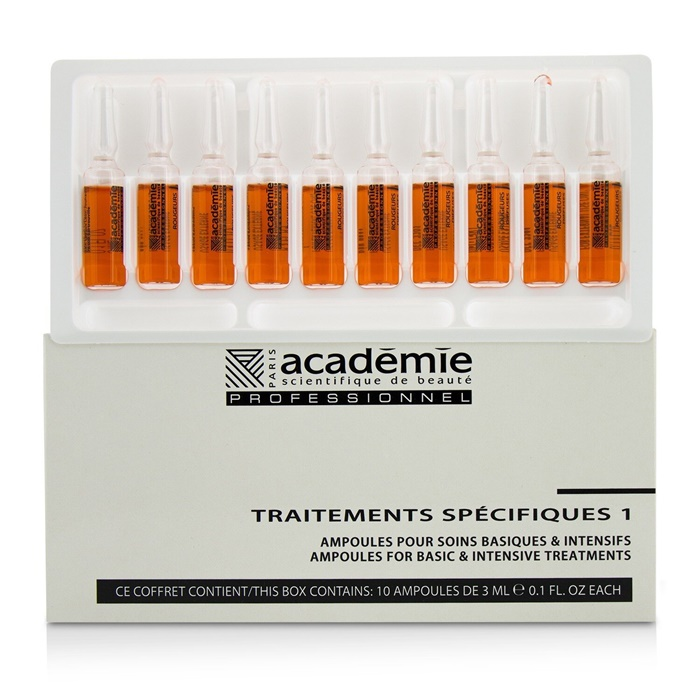 Academie Specific Treatments 1 Ampoules Rougeurs Diffuses - Salon Product