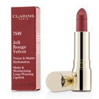 Clarins Joli Rouge Velvet (Matte & Moisturizing Long Wearing Lipstick) - # 754V Deep Red