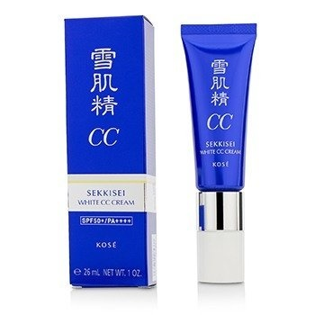 Kose Sekkisei White CC Cream SPF50+ PA++++ - # 01 Light Ochre