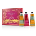 Crabtree & Evelyn Festive Winter Hand Trio (1x Frosted Spicewood, 1x White Cardamom, 1x Red Berry & Fir)