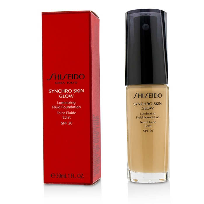 new shiseido synchro skin glow luminizing fluid foundation. Black Bedroom Furniture Sets. Home Design Ideas