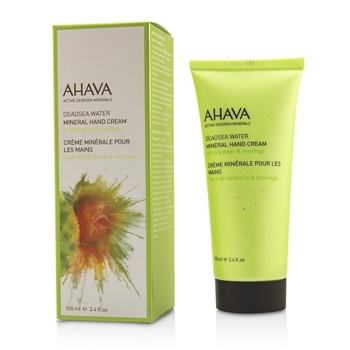 Ahava Deadsea Water Mineral Hand Cream - Prickly Pear & Moringa