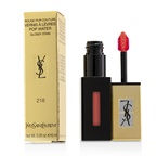 Yves Saint Laurent Rouge Pur Couture Vernis A Levres Pop Water Glossy Stain - #218 Orange Mist