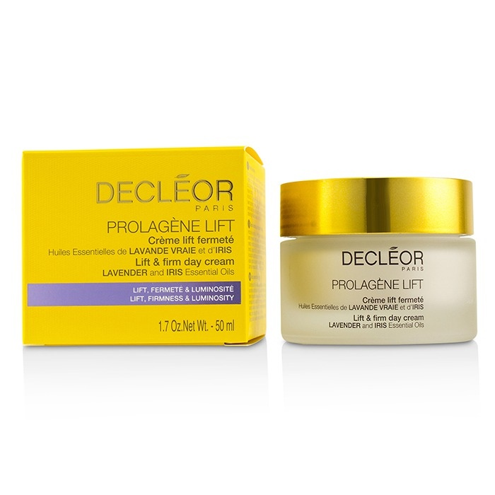 Decleor Prolagene Lift Lavender & Iris Lift & Firm Day Cream Cures By Avance Anti-Aging Skin Regeneration Treatment 1 oz