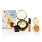 Elizabeth Arden Bronze In The City Color Collection (1 x Bronzing Powder, 1 x Blush, 1 x Lip Gloss, 1 x Brush)