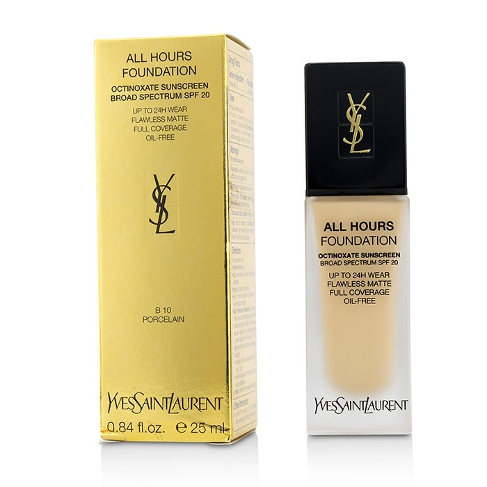 Yves Saint Laurent All Hours Foundation SPF 20 - # B10 Porcelain