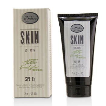 The Art Of Shaving Eucalyptus Daily Lotion SPF 15