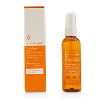 Dr Dennis Gross C + Collagen Perfect Skin Set & Refresh Mist